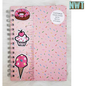 Other - Pink Sweets Journal & Fabric Stickers NWT